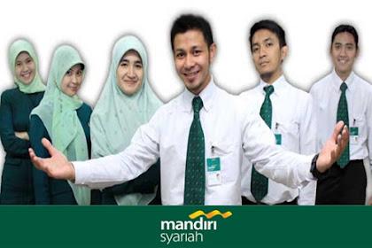 Lowongan Kerja Pekanbaru : PT. Bank Syariah Mandiri April 2017