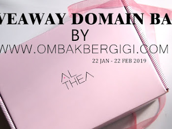 GIVEAWAY DOMAIN BARU BY OMBAKBERGIGI.COM