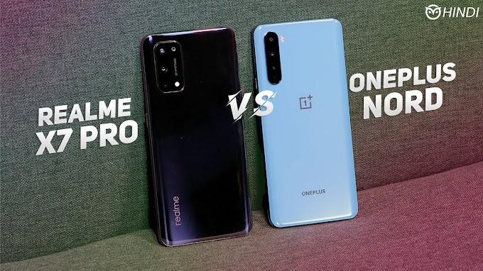 Realme X7 Pro vs OnePlus Nord