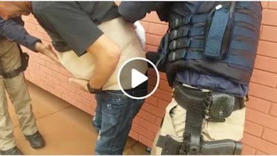 PRF flagra homem diversos celulares sem nota fiscal escondidos em faixa junto ao corpo