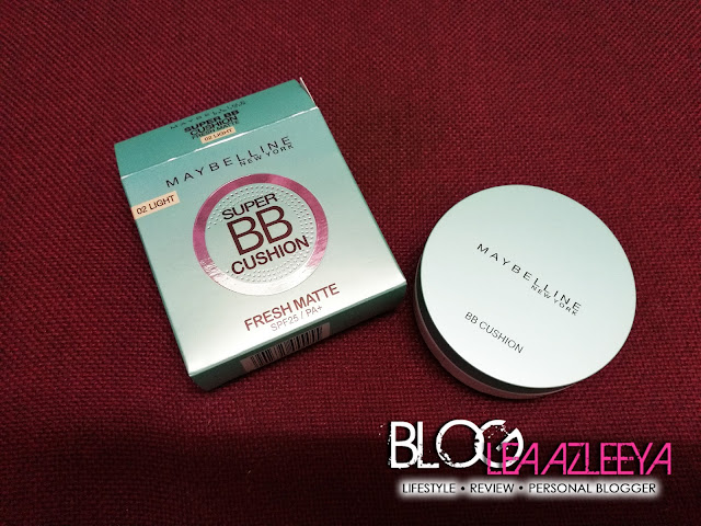 Firstime Try Maybelline Super BB Cushion Fresh Matte