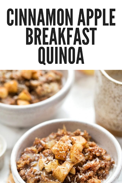 Cinnamon Apple Breakfast Quinoa