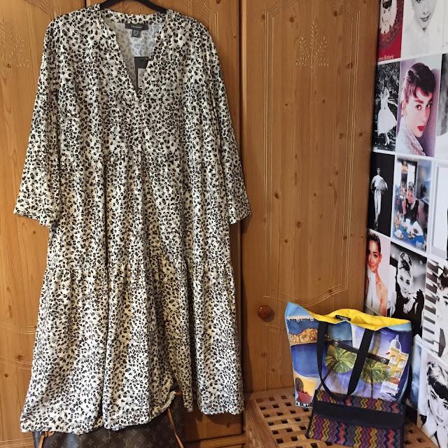 Primark leopard print dress