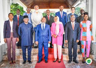 Le Commissaire de l'Union Africaine reçu par le président Azali