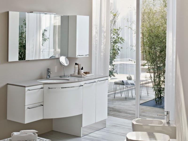 Modernos m veis de casa de banho em branco decora o e for Casas e ideas catalogo 2016