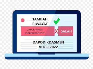 Edit riwayat pendidikan PTK