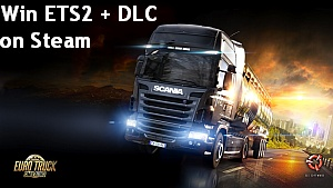 Contest: Win Euro Truck Simulator 2 + DLC - Steam Key Giveaway