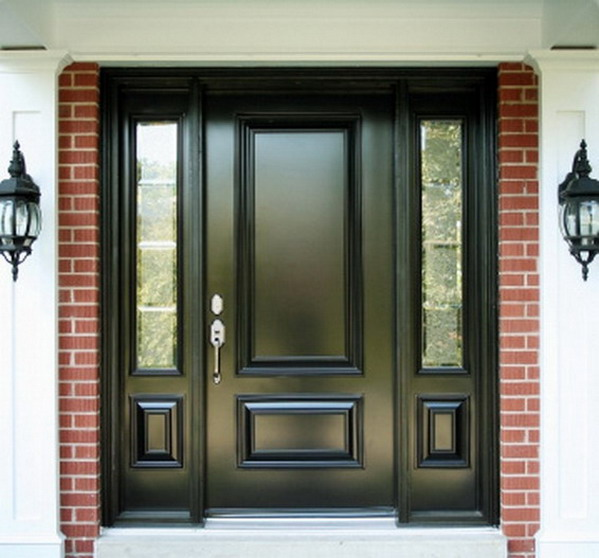Modern homes modern doors designs ideas new home designs for New house door design
