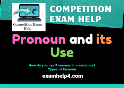 Pronoun and its Use in English Grammar