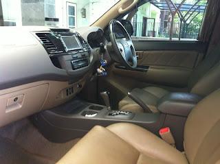 Rental Mobil Toyota Grand New Fortuner TRD Sportivo di Jakarta