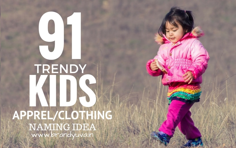 91+ Trendy Kids Clothing Shop Names [Updated]