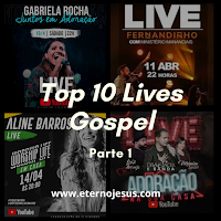 Clipes e Shows Gospel - Top 10 Lives Gospel (Parte 1)