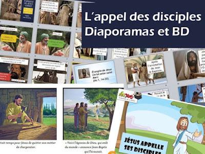 BD DIAPORAMA L'APPEL DES DISCIPLES