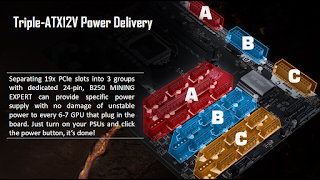 ASUS B250 Mining Expert board: support for 19 x GPUs 2