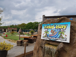 Tidal Bay Adventure Golf in Sherfield on Loddon