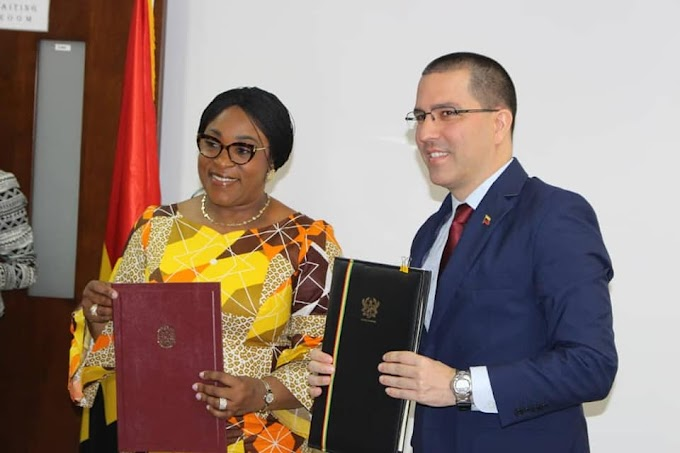Ghana, Venezuela Sign Travel Visa Exemption Agreement