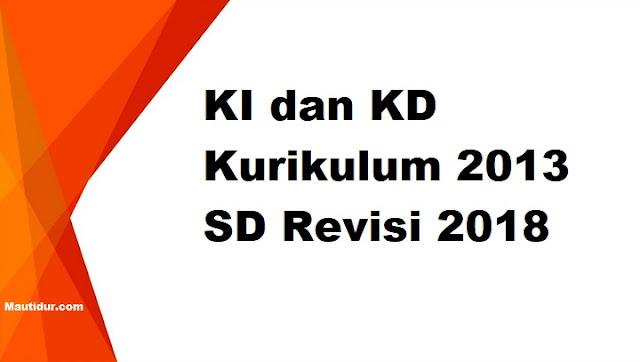 KI dan KD Kurikulum 2013