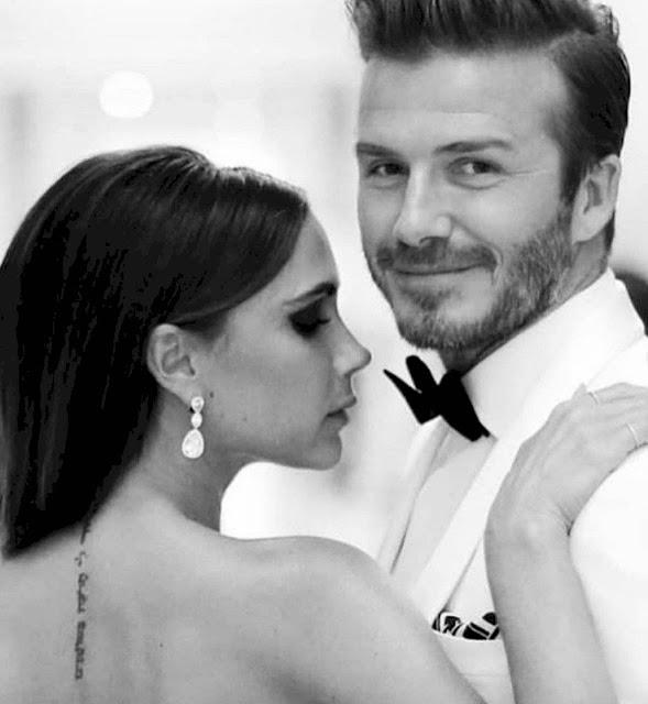 Victoria Beckham celebra 20 años a lado de David Beckham