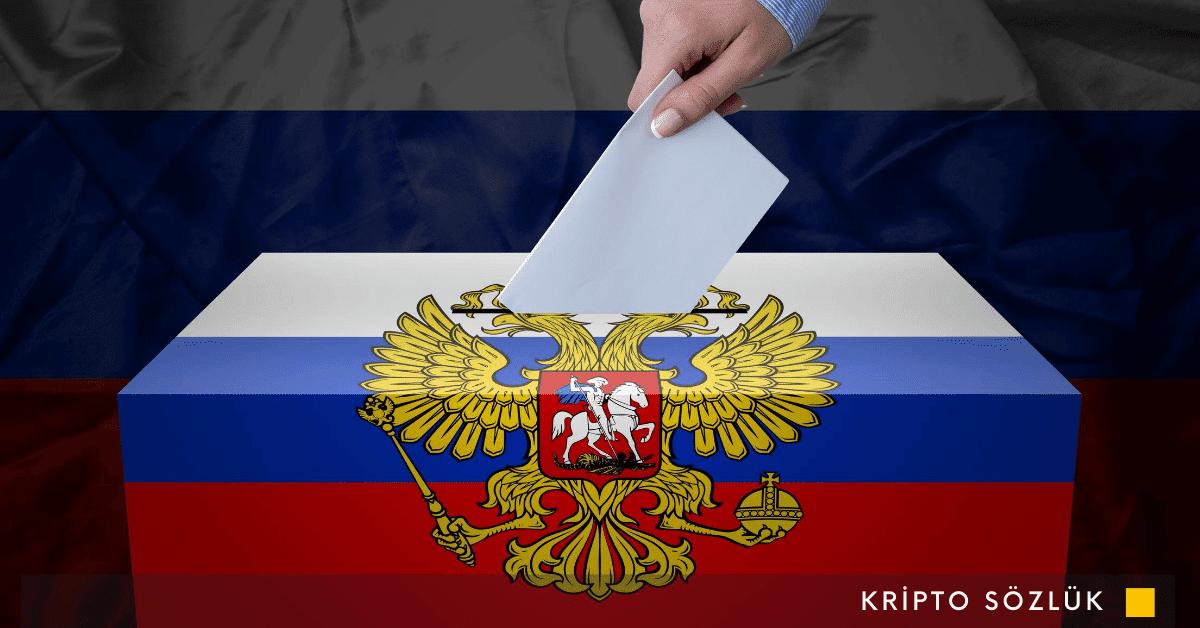 Rusya Seçimlerde Blockchain Kullanabilir!