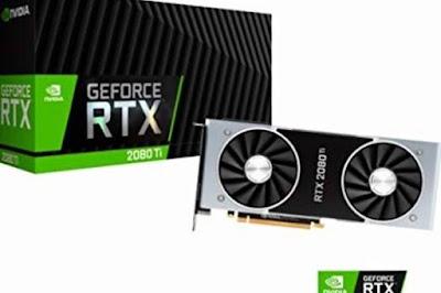 NVidia GeForce RTX 2080 Tiドライバーダウンロード