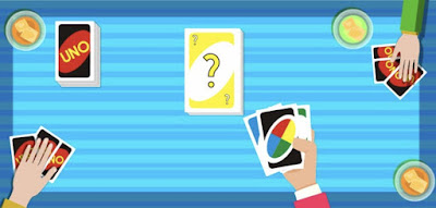 Figure: How many of the following statements are false? 1.) In Progressive Uno, penalties can be stacked 2.) In Seven-0, one player trades hands with only one other player 3.) In Jump-In, players can play out of turn 4.) In Reverse-Skip, players can play both Reverse and Skip cards at the same time