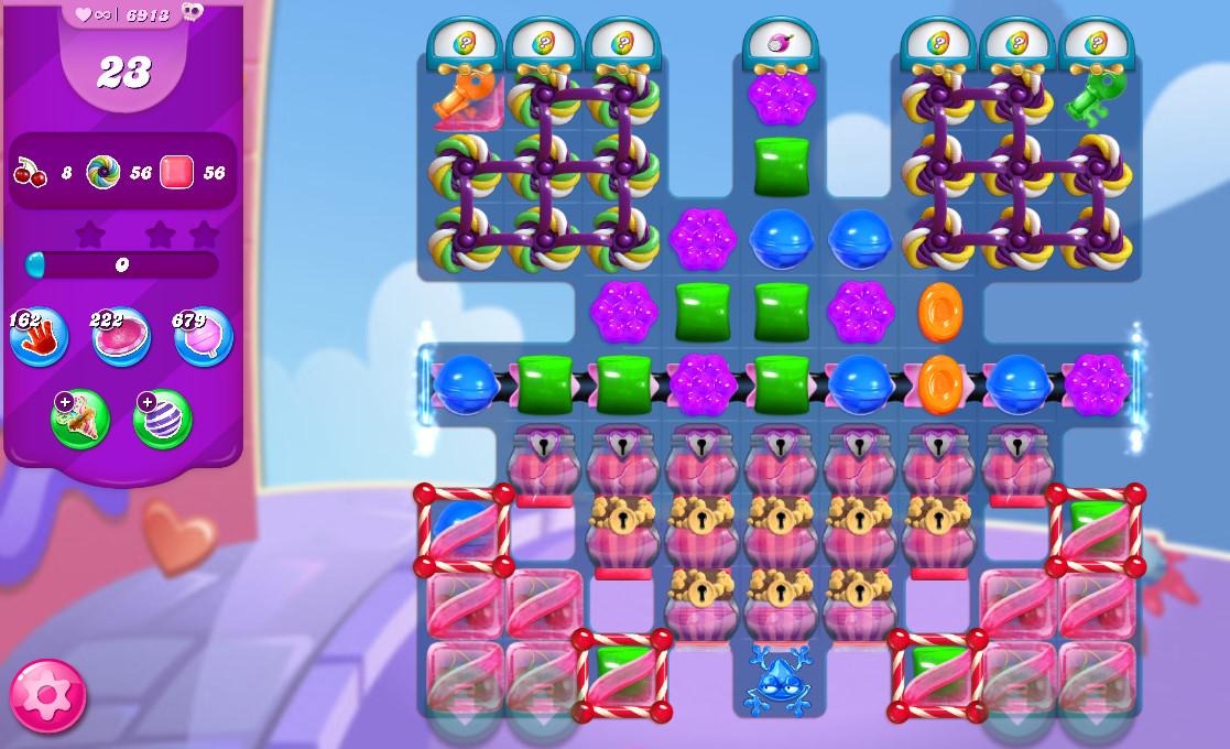 Candy Crush Saga level 6913