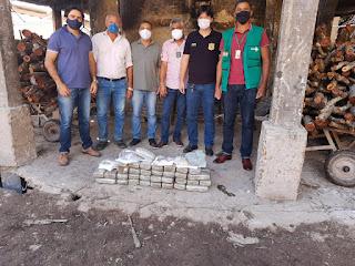 25° COORPIN de Euclides da Cunha,  Incinera drogas apreendidas pela Delegacia Territorial de Canudos