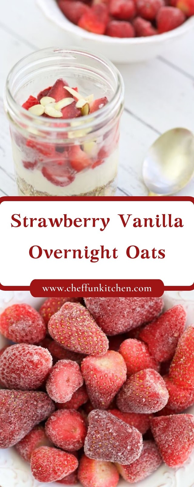 Strawberry Vanilla Overnight Oats
