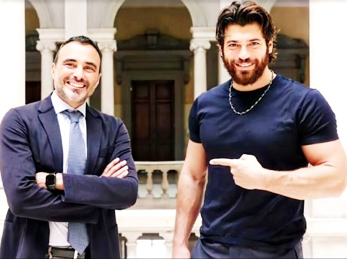 """Rome, Can Yaman and fundraising for children in hospital: """"I've been working on this for months""""."""