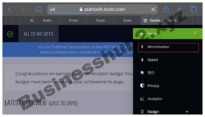 How set up ads.txt on Ezoic monetization dashboard