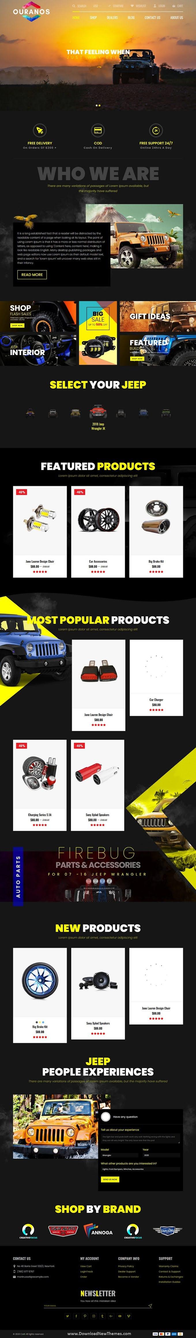 Automotive Shopify Theme for Cars & Auto