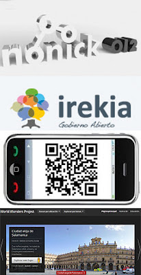 Códigos QR, Google World Wonders, Irekia y Nonick 2012