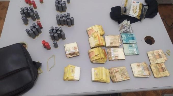 Polícia divulga dados da prisão do 7º envolvido no ataque a banco em Coremas. Até agora quase 50 mil reais foram recuperados
