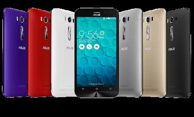 6 pilihan warna Zenfone 2 Laser ZE500K yang menawan