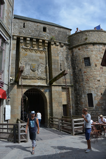 Mont Saint-Michel city gate