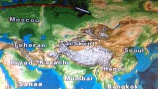 Monitor sedile aereo