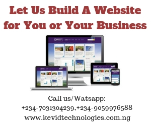 Website design in Nigeria