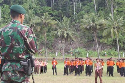 Satgas Pamtas Yonif PR 328 Kostrad Dukung Kegiatan Jambore II Wilayah Papua dan Papua Barat