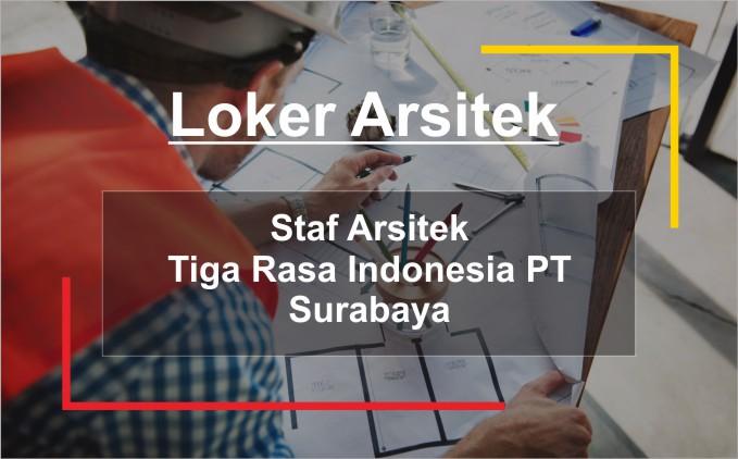 loker staff arsitek 2020 lokasi surabaya