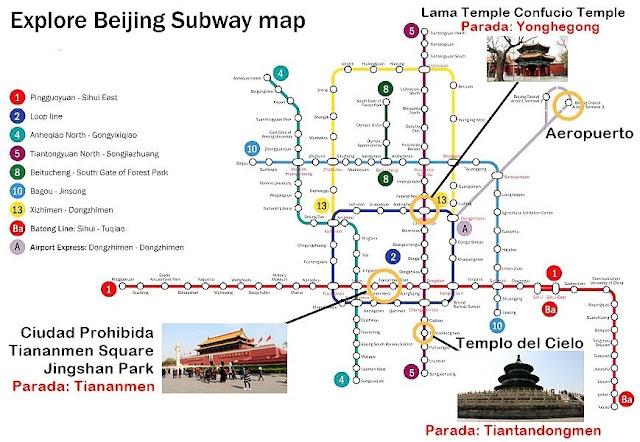 Plano-metro-Pekin