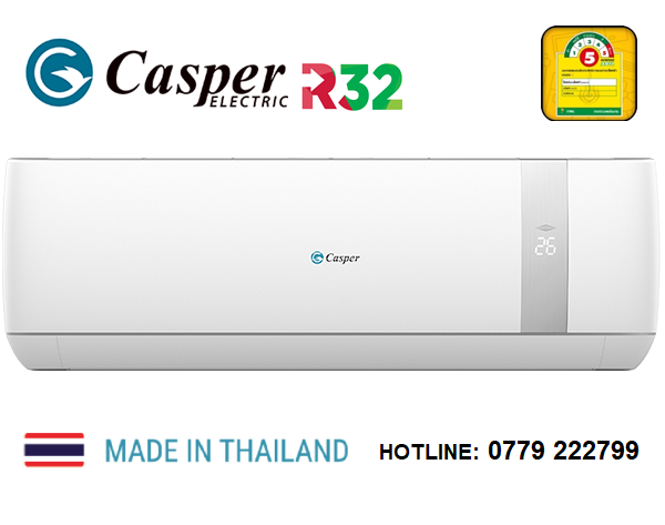Điều hòa Casper 24000BTU 1 Chiều lạnh model SC-24TL32 | SC24TL32