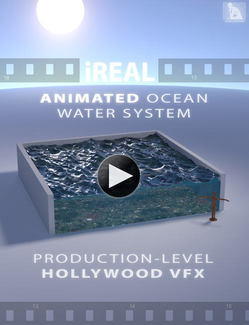 iREAL Animated Ocean Water System