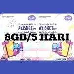 Voucer Axis 8GB/5Hari