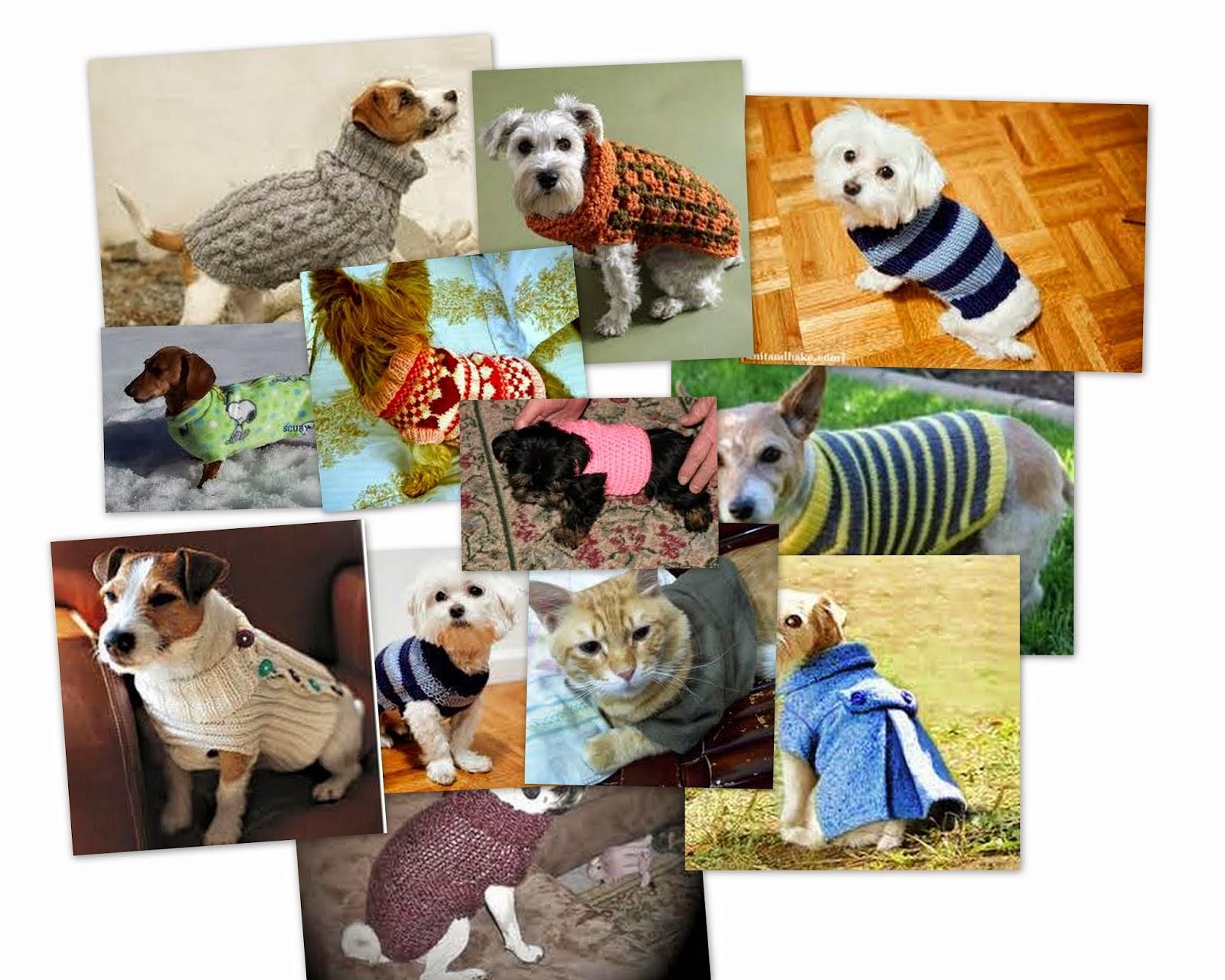 abrigos para mascotas, patrón y tutorial