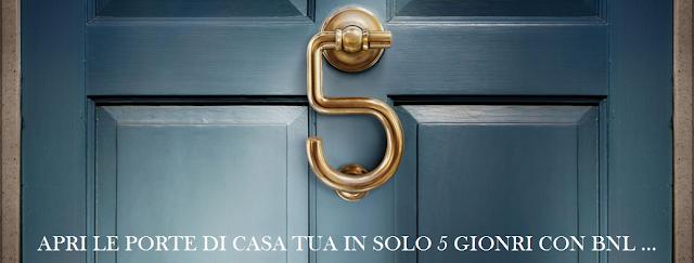 Mutui Bnl #solo5giorni per risparmiare: Opinioni
