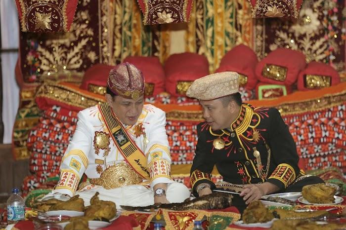 Gubernur Ridho Disambut Hangat di Kerajaan Skala Brak