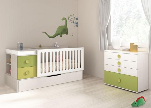 Cuna convertible fotos de dormitorios - Dormitorios para bebe ...