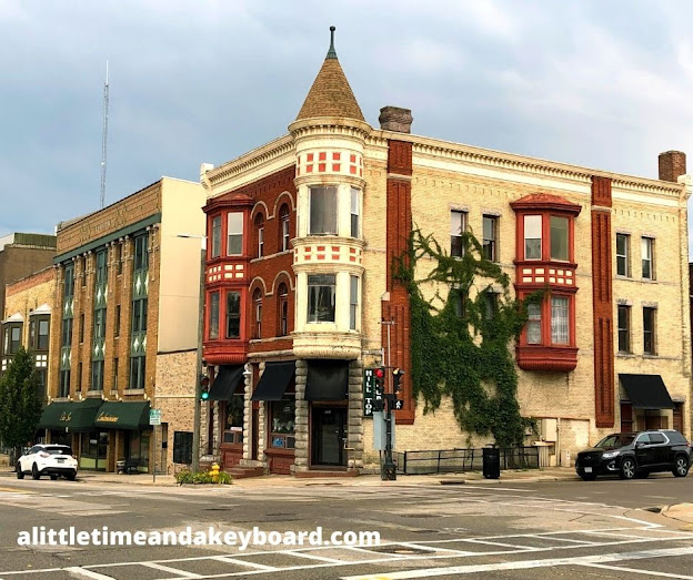 Unique and interesting historic spots are threaded throughout Janesville including  the old London Hotel!