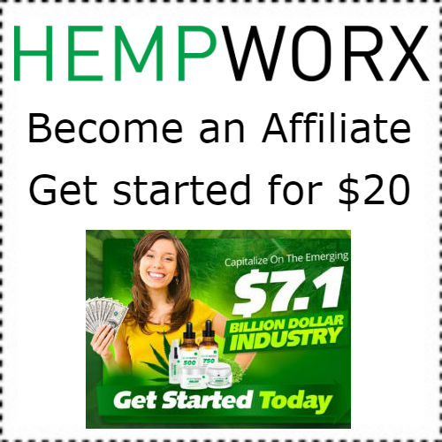 How to make money with CBD Oils, Joining the Hempworx Affiliate Program