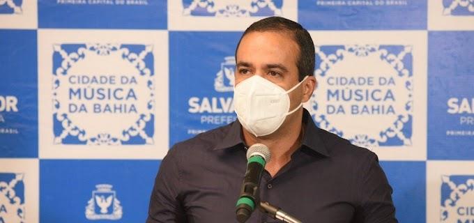 Prefeito de Salvador anuncia o retorno das aulas totalmente presenciais na rede municipal para segunda-feira